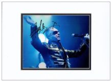 Holly Johnson Autograph Signed Photo - Frankie Goes To Hollywood
